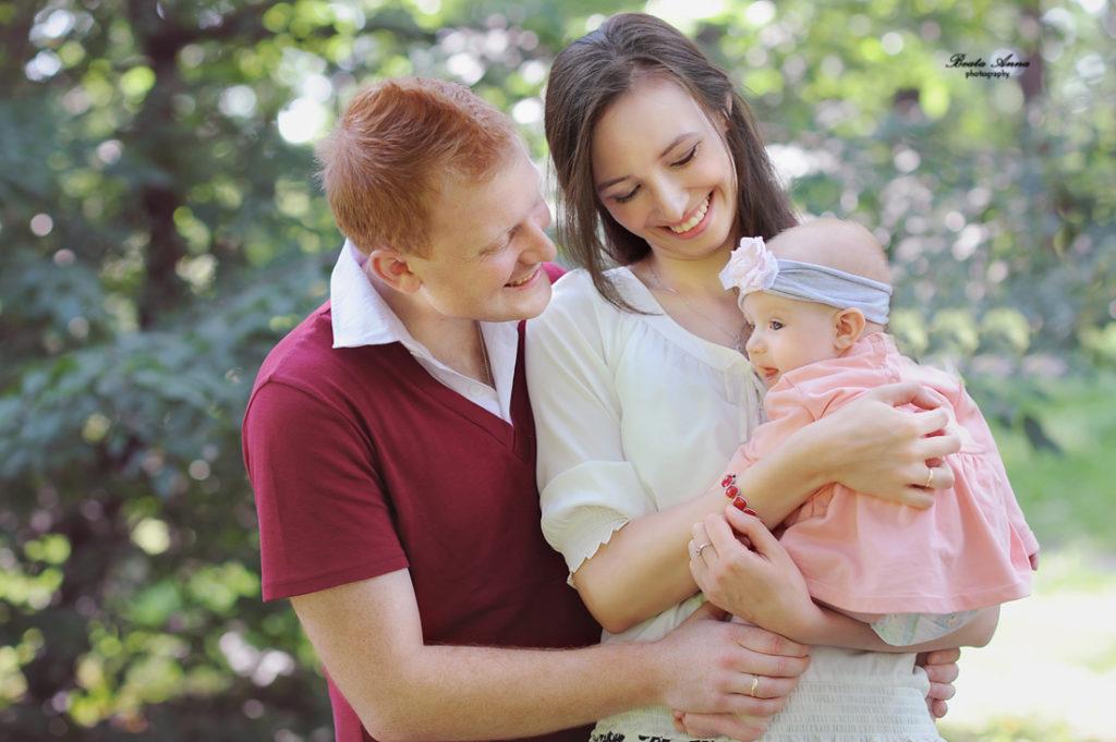 sesja fotograficzna rodzinna