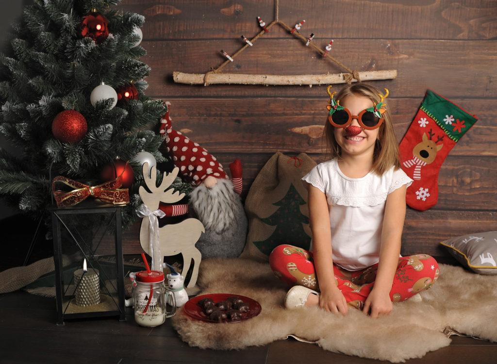 świąteczna sesja zdjęciowa